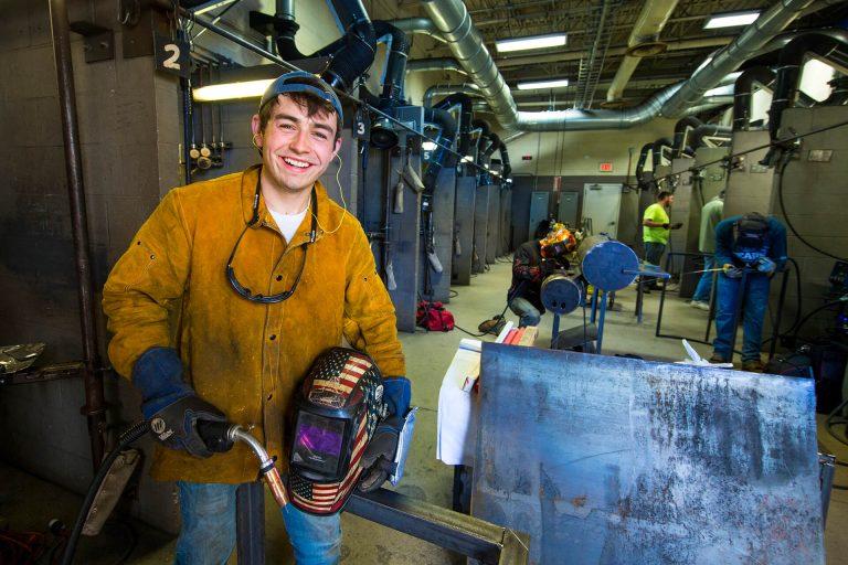A welding technology using a welding tool